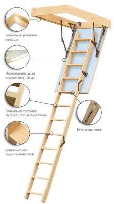 Чердачные лестницы FAKRO в Екатеринбурге Фото 2