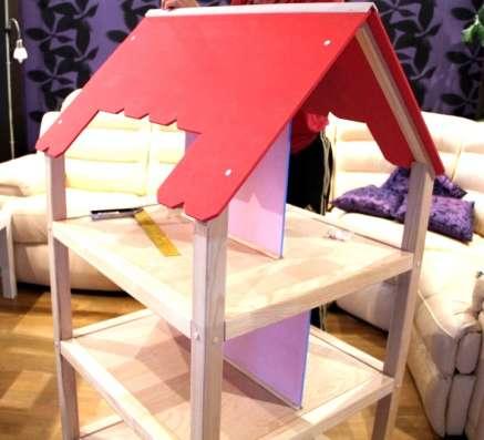 Роскошный деревянный кукольный домик ручной работы в Санкт-Петербурге Фото 2