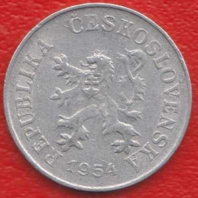 Чехословакия 5 геллеров 1954 г. в Орле Фото 1