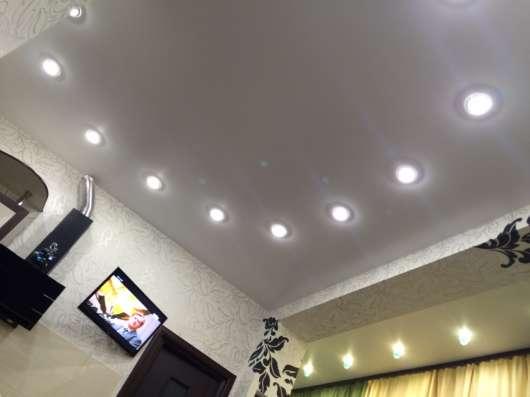 Потолки натяжные - Ремонт квартир в Иркутске Фото 4