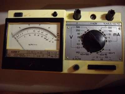 Комбинированный прибор 43208-У. тестер в Челябинске Фото 4