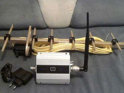 GSM репитер 900 МГц+ направлен. антенна