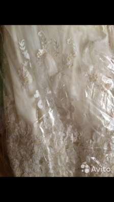 Платье свадебное 42-44 в Москве Фото 3