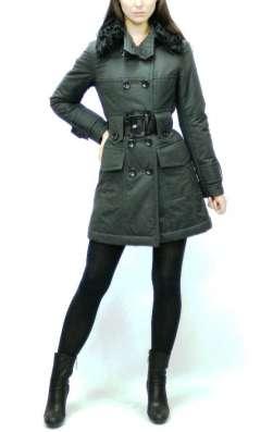 Женское пальто плащ из хлопка