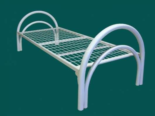 Металлические кровати с ДСП спинками для больниц опт