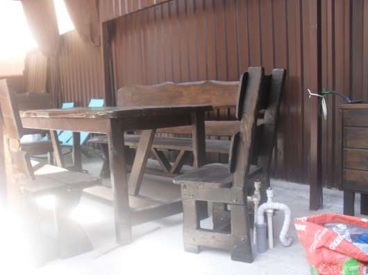 Лавочки, скамейки, столы, цветочники, изделия из дерева в Ростове-на-Дону Фото 5