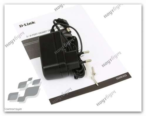 SWITCH D-Link DGS-1008DH1