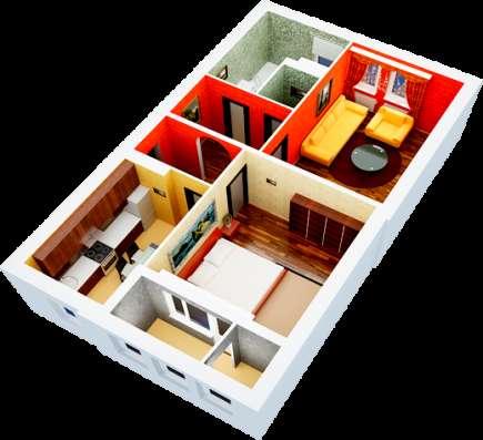 Купить квартиру в новом доме на стадии сдачи!