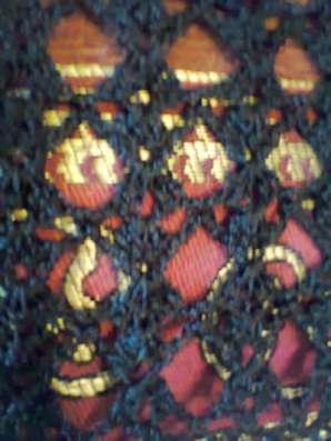 болеро вязанное черного цвета