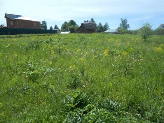 Земельный участок 22 сотки в д. Павлищево, Можайскоий район,105 км от МКАД по Минскому шоссе. Фото 1