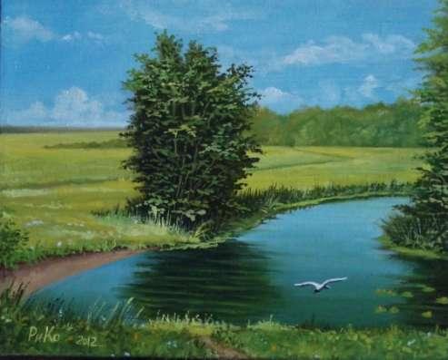 Голубятня на озере в Москве Фото 1