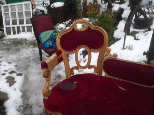 Старинная кушетка...под реставрацию.. в Москве Фото 4