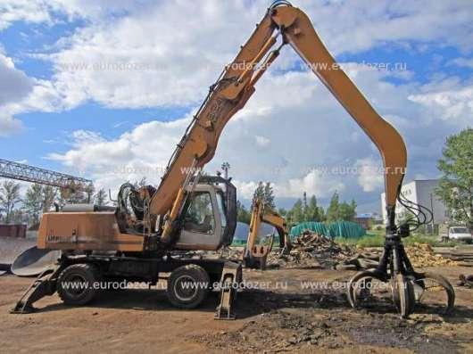Перегружатель металлолома LIEBHERR 924, 2006 г., генератор, грейфер