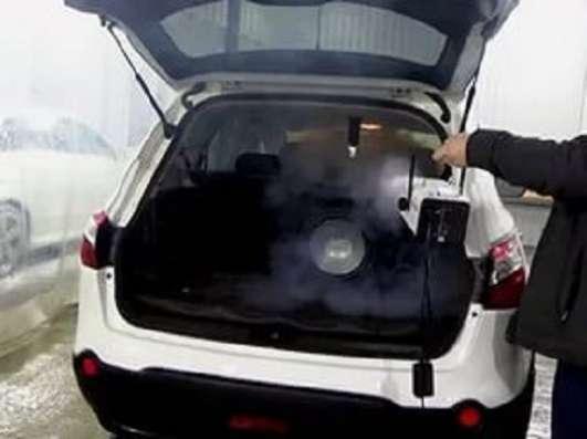 Генератор сухого пара Nano Fogger+4 запаха