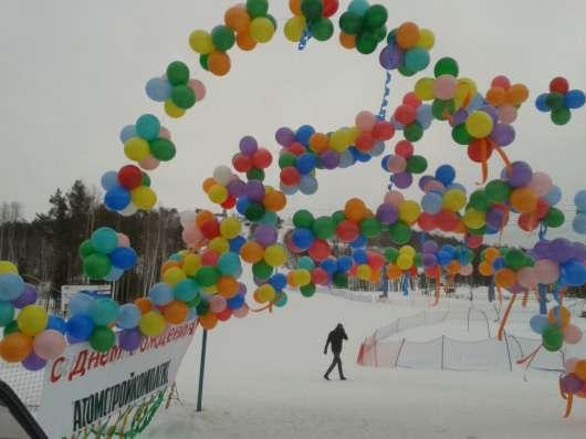 Доставка шаров. Оформление праздников. Печать на шарах в Екатеринбурге Фото 1