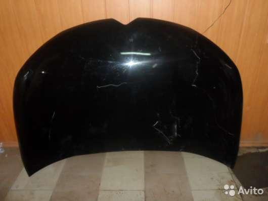 Капот чёрный для Ситроен С4 (Citroen C4)