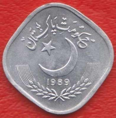 Пакистан 5 пайса 1989 г.