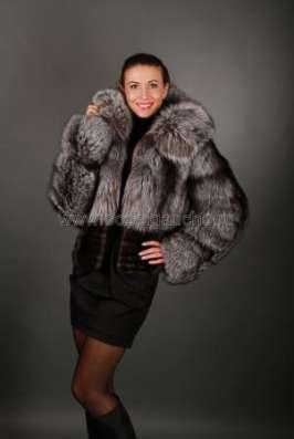 Полушубки, жакеты и меховые куртки из лисы и чернобурки в Москве Фото 4