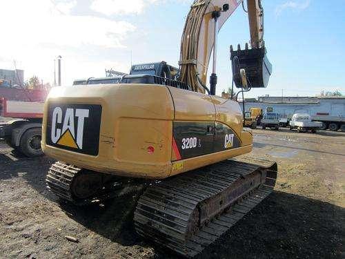 Гусеничный экскаватор CAT 320D, 2013 г., 1,2 м3, болотоход