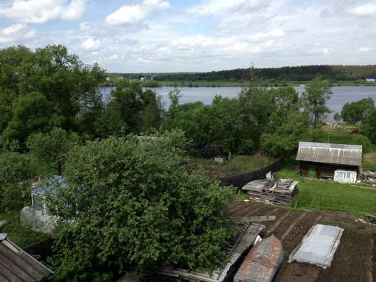 Коттедж на 1 береговой линии р. Волга, д. Алексино