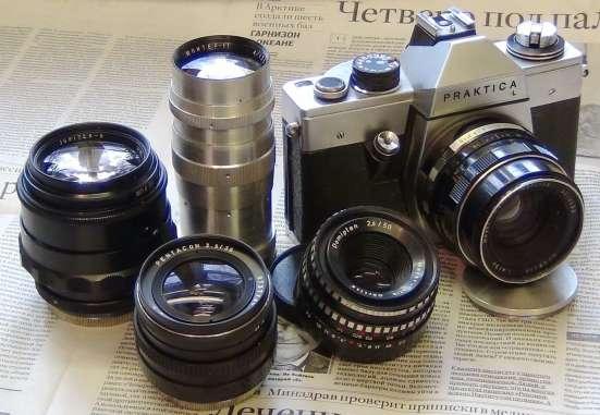 Фотоаппарат PRAKTIKA L со сменной оптикой