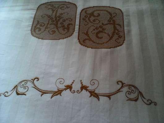 Текстиль с машинной вышивкой в г. Губаха Фото 1