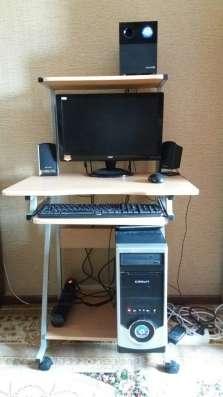 Продам б/у компьютер и комп. стол в отличном состоянии: