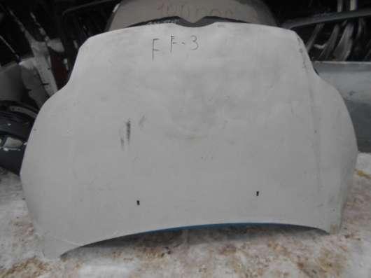 Капот белый на Ford Focus III 2011-2014г