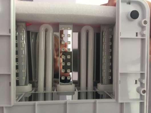 Лампа-гибрид д/маникюра 36W UV + 18W LED