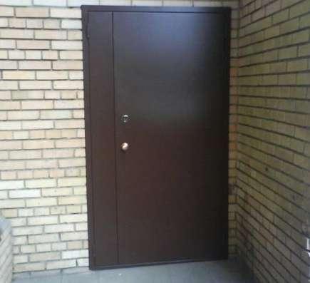 Дверь противопожарная металлическая утепленная EI-60