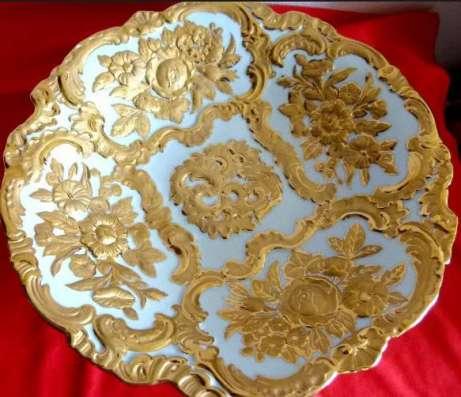 Мейсен. Шикарное тарелка-шале. Meissen.27,5 см