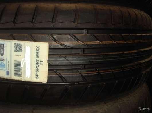 Новые Dunlop 225/55ZR16 SP Sport Maxx TT