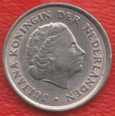 Нидерланды Голландия 10 центов 1967 г в Орле Фото 1