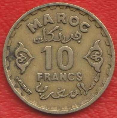 Марокко Французское 10 франков 1952 г.