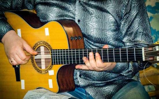 Обучение игре Акустическая, Электро, Бас гитара