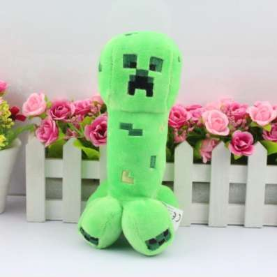 Мягкая игрушка Крипер из Майнкрафт