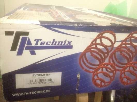 Комплект пружин с занижением TA-Technix bmw e92