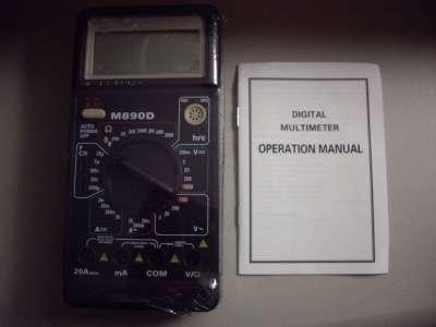 Прибор   цифровой M890D