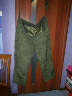 Военные теплые штаны (цифра).