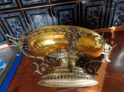 Срочно продам фруктовница серебро 800пр в Москве Фото 1