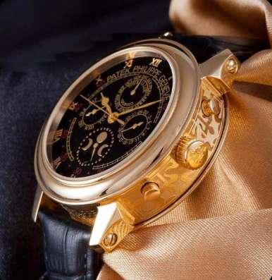 Подарок мужчине на 23 февраля. Механические часы Patek Phili