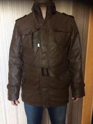 Куртка мужская новая коричневая 52-54 размер в Комсомольске-на-Амуре Фото 5