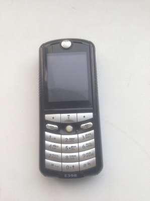 Продам телефон Моторола Е398