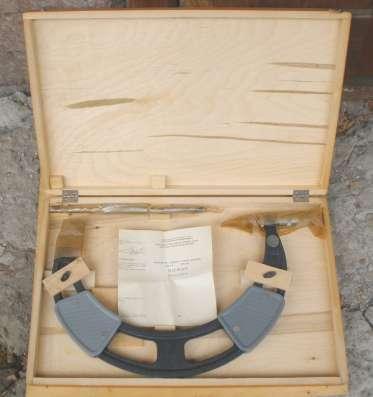 Микрометр гладкий нониусный МК 275-1, ГОСТ 6507-90