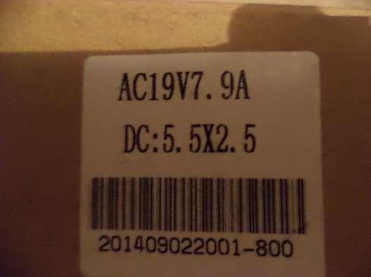 Блок питания (адаптер) 7.9 А 19 V