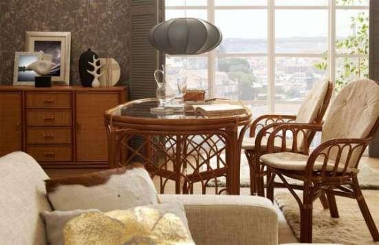 Мебель плетеная из натурального ротанга стул 04.16