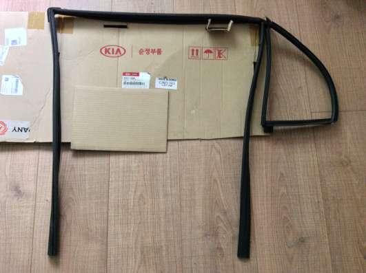 Уплотнитель стекла двери 835411G000 Kia Rio