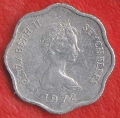 Сейшельские острова Сейшелы 5 центов 1972 г. ФАО