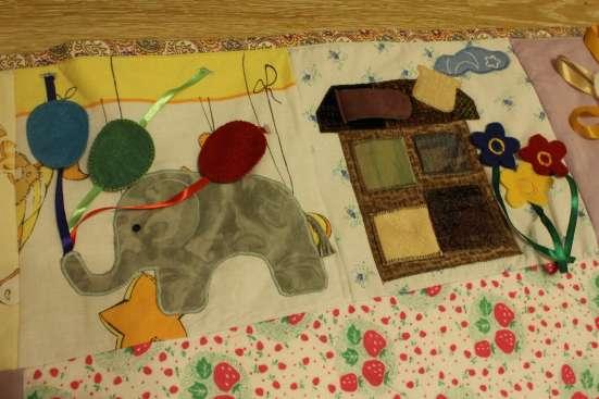 Развивающий коврик для ребенка от 0,6 до 3 лет