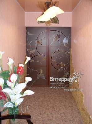 Двери с оформлением витражами в Набережных Челнах Фото 3